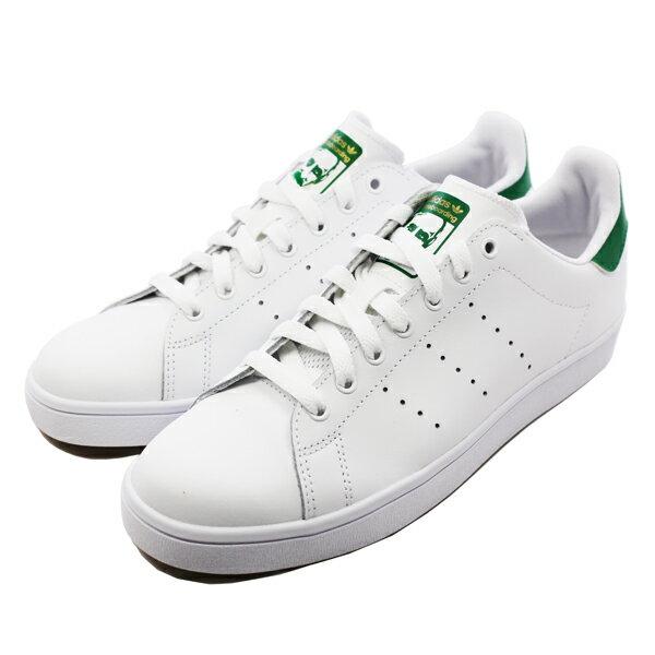 【アディダス】 アディダス スタンスミス バルカ [サイズ:28cm(US10)] [カラー:ホワイト×グリーン] #B49618 【靴:メンズ靴:スニーカー】【B49618】【ADIDAS ADIDAS STAN SMITH VULC FTWR WHITE/FTWR WHITE/GREEN】