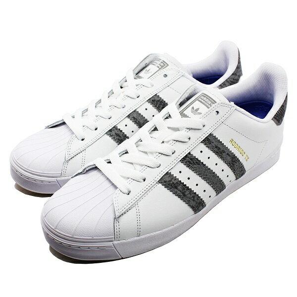 【1500円以上購入で300円OFFクーポン 9/20 9:59まで】 【送料無料】 アディダス スケートボーディング スーパースターバルカ [サイズ:28cm(US10)] [カラー:ホワイト×グレー] #BB9067 【アディダス: 靴 メンズ靴 スニーカー】【ADIDAS adidas SUPERSTAR VULC】