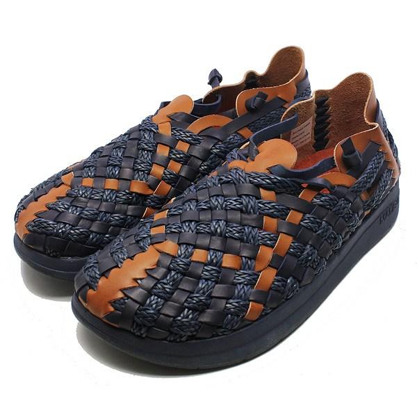 【マリブサンダルズ】 MALIBU×MISSONI LATIGO [サイズ:26cm(US9)] [カラー:ネイビー×ウィスキー] #MM-1702 【靴:メンズ靴:サンダル:コンフォートサンダル】【MM-1702】【MALIBU SANDALS MALIBU SANDALS LATIGO NAVY/WHISKEY】