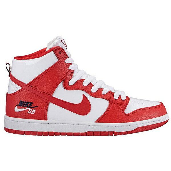 【ナイキ】 ナイキ SB ダンク ハイ プロ [サイズ:27cm(US9)] [カラー:ユニバーシティレッド×ユニバーシティレッド] #854851-661 【靴:メンズ靴:スニーカー】【854851-661】【NIKE NIKE SB DUNK HIGH PRO UNIVERSITY RED/UNIVERSITY RED】