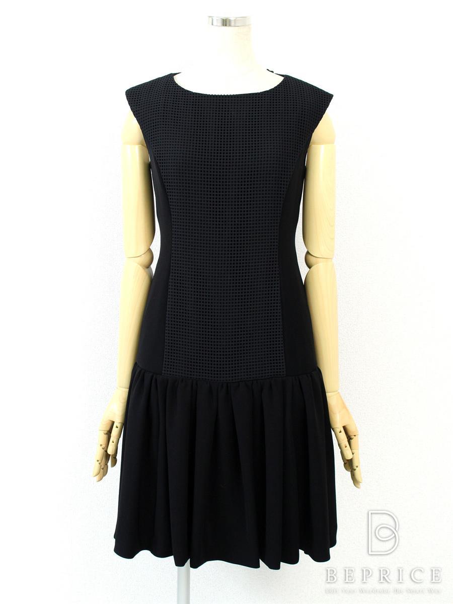 FOXEY NEWYORK フォクシー ワンピース Front Mesh Dress 【38】【Aランク】【中古】gztn280605