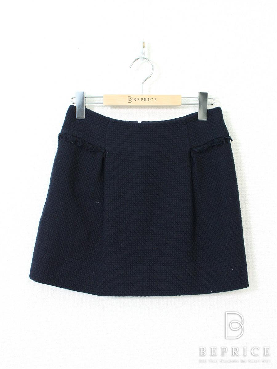 FOXEY BOUTIQUE フォクシー スカート ツイード【38】【Bランク】【中古】tn290223