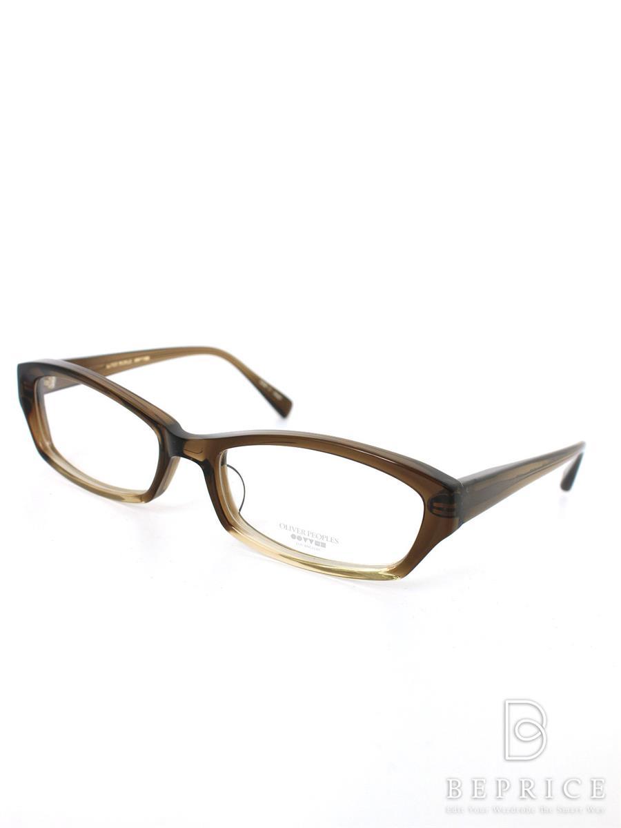 OLIVER PEOPLES オリバーピープルズ 眼鏡フレーム KATE セルフルリム【53□17-140】【Aランク】【中古】tn290316