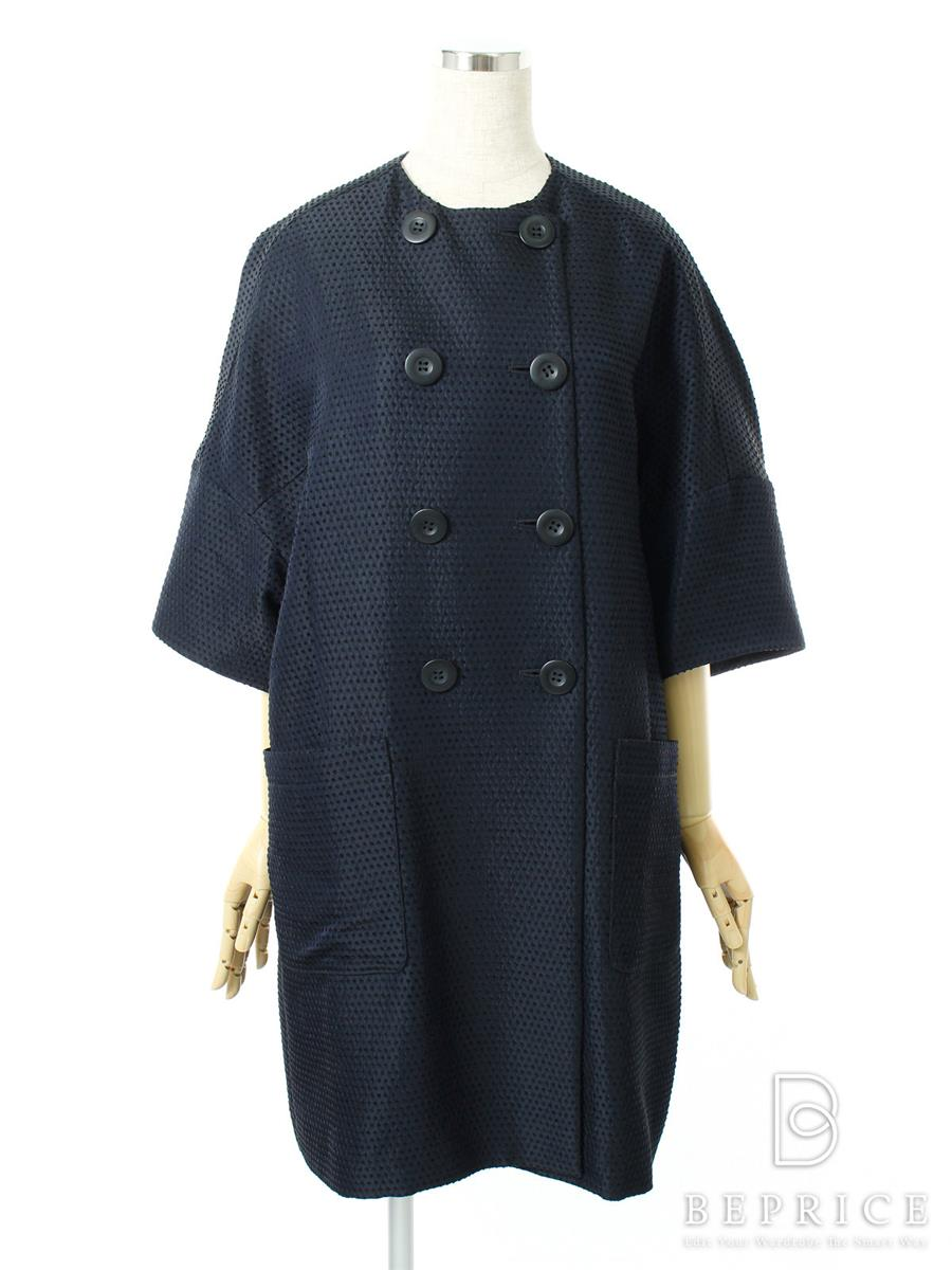 FOXEY NEWYORK フォクシー コート Dotted Swiss Coat Collection【F】【Aランク】【中古】tn290914t