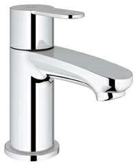 グローエ*GROHE* 【23 039 20J】 EUROSTYLE COSMOPOLITAN(ユーロスタイルコスモポリタン) シングルレバー洗面単水栓 クローム