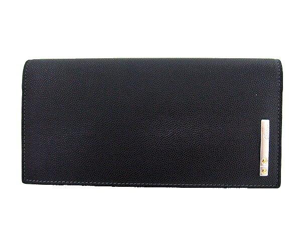 Cartier L3000769 ブラック 二つ折り長財布 サントス カルティエ【RCP】