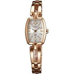 【送料無料】 オリエント時計 [ソーラー時計]イオ(iO) 「スイートジュエリーソーラー」 WI0161WD