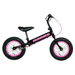 【送料無料】 ハマー 12型 キッズ用ランニングバイク HUMMER TRAINEE BIKE(ピンク)[TRAINEEBIKE] 【代金引換配送不可】