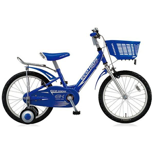 【送料無料】 ブリヂストン 16型 幼児用自転車 エコキッズスポーツ(ブルー/シングルシフト) EK16S6【2016年モデル】【組立商品につき返品不可】 【代金引換配送不可】