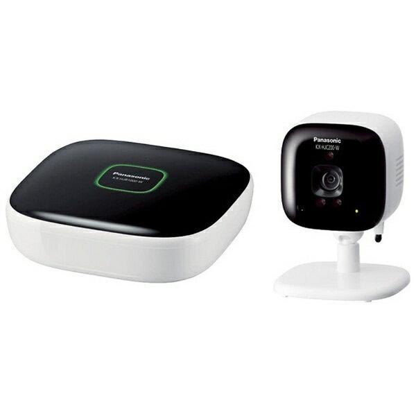 【送料無料】 パナソニック ホームネットワークシステム 「スマ@ホーム システム」 屋内カメラキット KX-HJC200K-W ホワイト