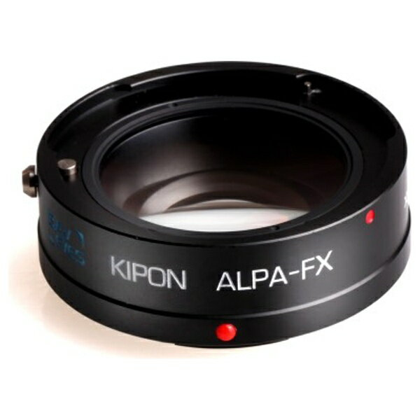 【送料無料】 KIPON マウントアダプター Baveyes ALPA-FX x0.7【ボディ側:富士フイルムX/レンズ側:アルパ】