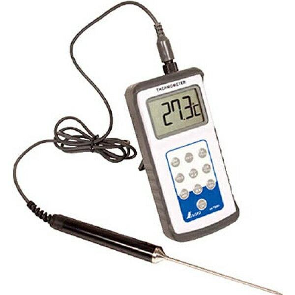 【送料無料】 シンワ測定 シンワ デジタル温度計H-2最高最低隔測プローブ防水型 73081