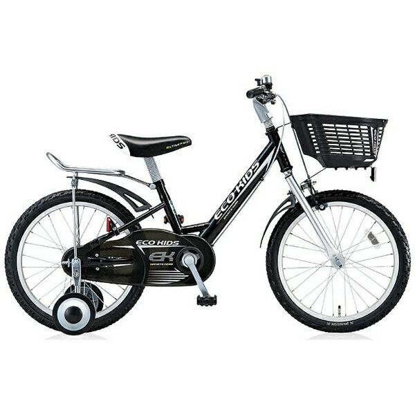 【送料無料】 ブリヂストン 18型 幼児用自転車 エコキッズスポーツ(ブラック/シングルシフト) EK18S6【組立商品につき返品不可】 【代金引換配送不可】【メーカー直送・代金引換不可・時間指定・返品不可】