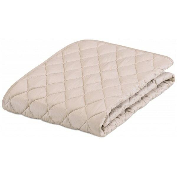 【送料無料】 フランスベッド 【ベッドパッド/ボックスシーツ】グッドスリーププラス 羊毛3点パック(クィーンロングサイズ/170×205cm/キナリ)