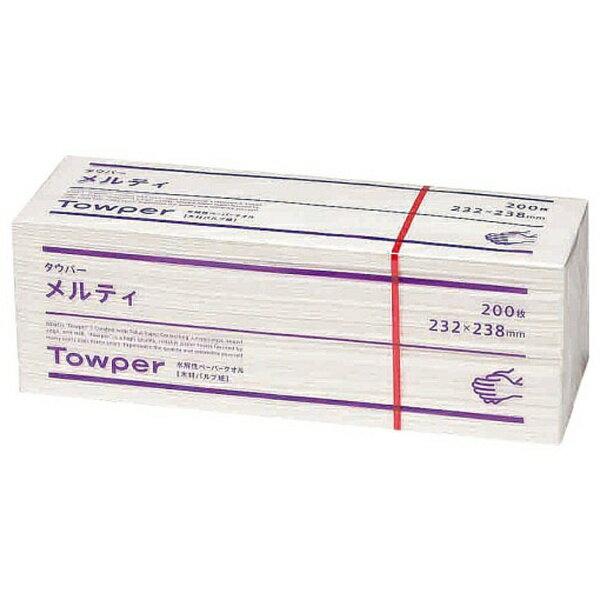 ��料無料】 �海加工紙 トウカイ ペーパータオル (20�入) メルティ タウパー <KTO2901>