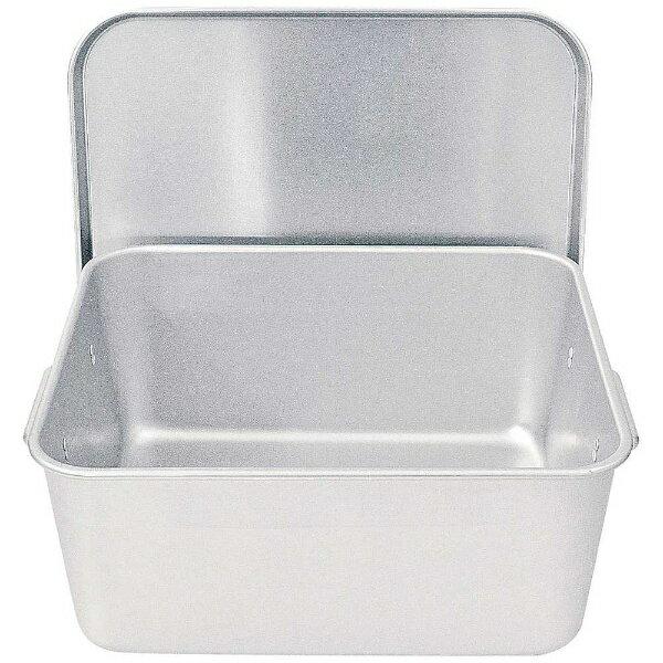 【送料無料】 遠藤商事 アルマイト 重なるパン箱(蓋付) TA-30(25~35人対応) <APV4801>