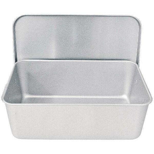 【送料無料】 遠藤商事 アルマイト 重なるパン箱(蓋付) TA-40(35~45人対応) <APV4901>