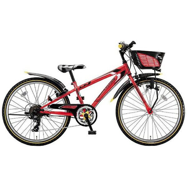 【送料無料】 ブリヂストン 22型 子供用自転車 クロスファイヤージュニア(F.Xピュアレッド/7段変速) CFJ27【2017年モデル】【組立商品につき返品不可】 【代金引換配送不可】