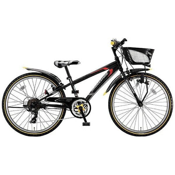 【送料無料】 ブリヂストン 22型 子供用自転車 クロスファイヤージュニア(P.Xシーニックブラック/7段変速) CFJ27【2017年モデル】【組立商品につき返品不可】 【代金引換配送不可】