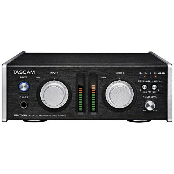 【送料無料】 TASCAM HDIA回路搭載マイクプリアンプ/USBオーディオインターフェース UH-7000