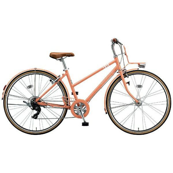 【送料無料】 ブリヂストン 26型 クロスバイク MarkRosa 7S(E.Xサニーピンク/430サイズ《適応身長:144cm以上》) MRS67T【2017年モデル】【組立商品につき返品不可】 【代金引換配送不可】