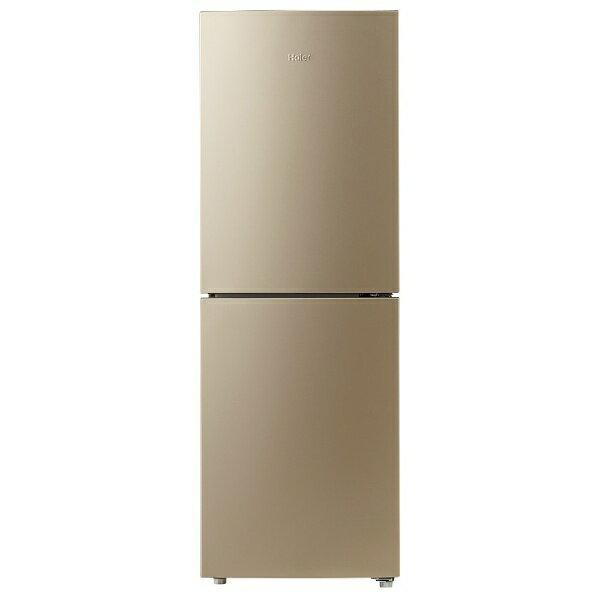 �標準設置費込�】 �イアール 2ドア冷蔵庫 (218L) JR-NF218A-N ゴールド