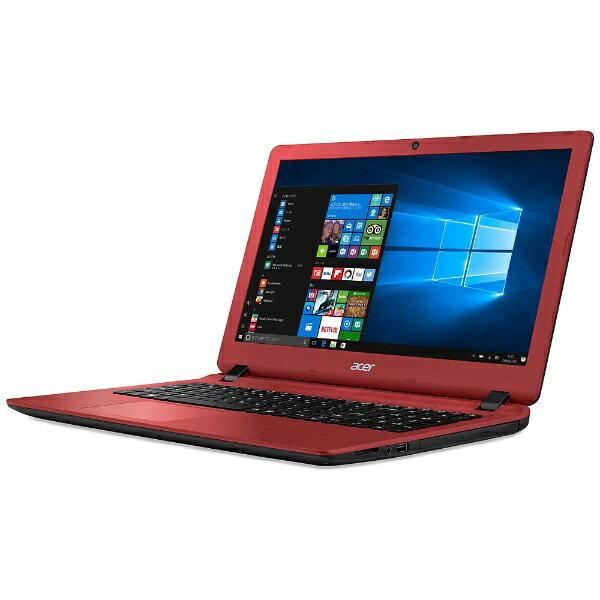 【送料無料】 ACER(エイサー) 15.6型ノートPC[Win10 Home・Celeron・HDD 500GB・メモリ 4GB] Aspire ES 15 ローズウッドレッド ES1-533-H14D/R (2017年2月モデル)[ES1533H14DR]