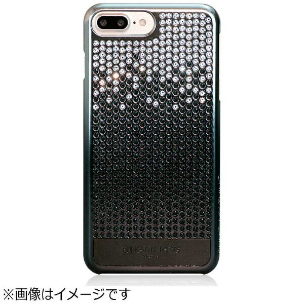 【送料無料】 サンクチュアリ iPhone 7 Plus用 Bling My Thing Cascade Brilliant Onyx BM_I7PCSPCCB_OX