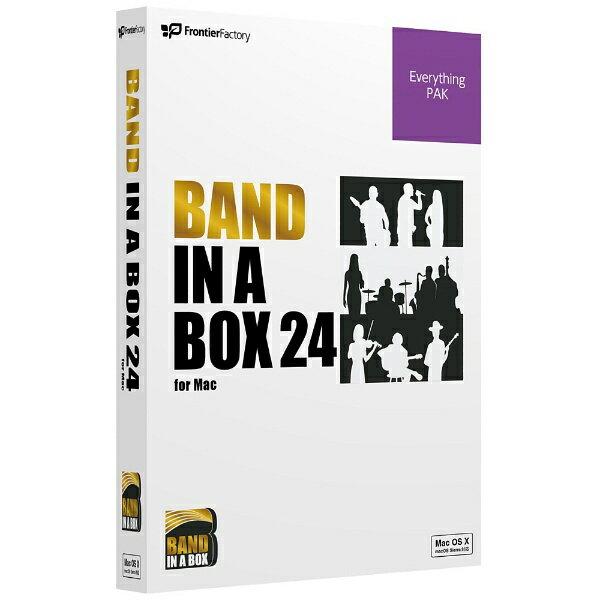 【送料無料】 PGMUSIC 〔Mac版〕 Band-in-a-Box 24 for Mac EverythingPAK 音楽制作ソフト (PGBBOEM111)