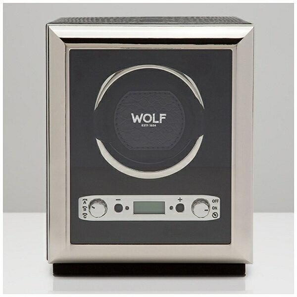 【送料無料】 WOLF 自動巻き上げ機 「Python Single Winder Blk」 461720 (ブラック)