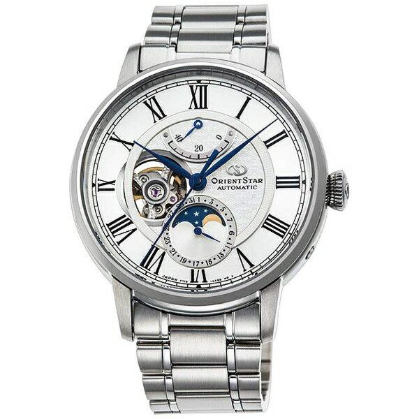 【2017年09月28日発売】 【送料無料】 オリエント時計 オリエントスター(Orient Star)「メカニカルムーンフェイズ」 RK-AM0005S
