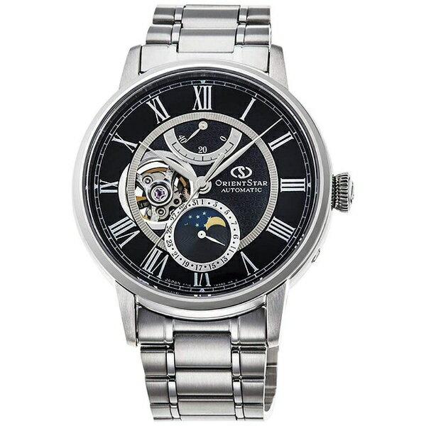 【2017年09月28日発売】 【送料無料】 オリエント時計 オリエントスター(Orient Star)「メカニカルムーンフェイズ」 RK-AM0004B