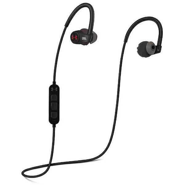 【送料無料】 JBL ブルートゥースイヤホン インナーイヤー型 UA Sport Wireless HEART RATE(ブラック) UAJBLHRMB