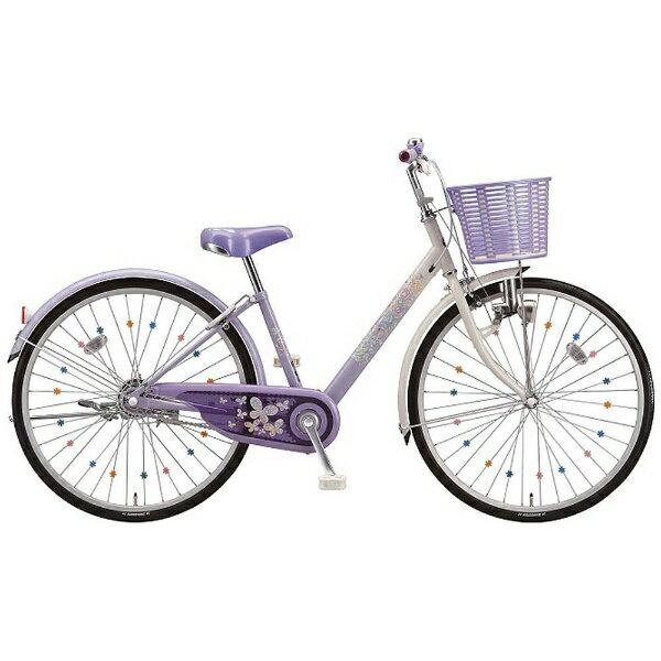 【送料無料】 ブリヂストン 24型 子供用自転車 エコパル(ラベンダー/シングル) EP40【2018年モデル】【組立商品につき返品不可】 【代金引換配送不可】