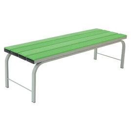 ソフトベンチ緑【備品/ベンチ】