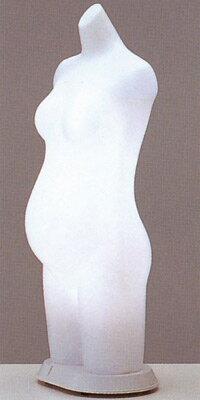ST887 maternity's 日本製 国産 送料無料代引無料 トルソー(マネキン)妊婦マタニティ用ボディ 電飾タイプ 高さ93cm ウエスト86cm ディスプレイ 高級 スタイリッシュ デパート アパレル 什器【RCP】
