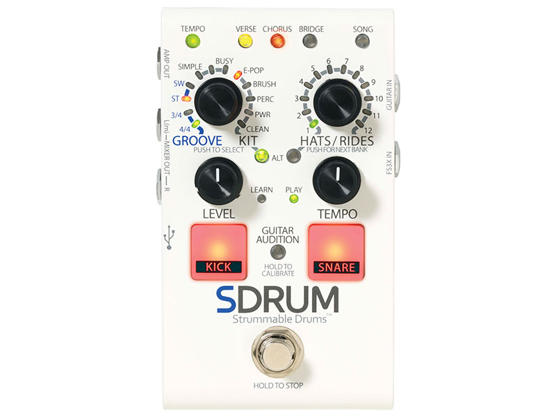 【新製品】Digitech / SDRUM
