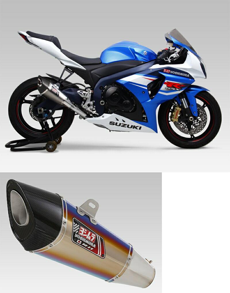ヨシムラ 150-519-8F80B R-11 レーシングチタンサイクロン 1エンド マフラー TTB チタンブルーカバー GSX-R1000