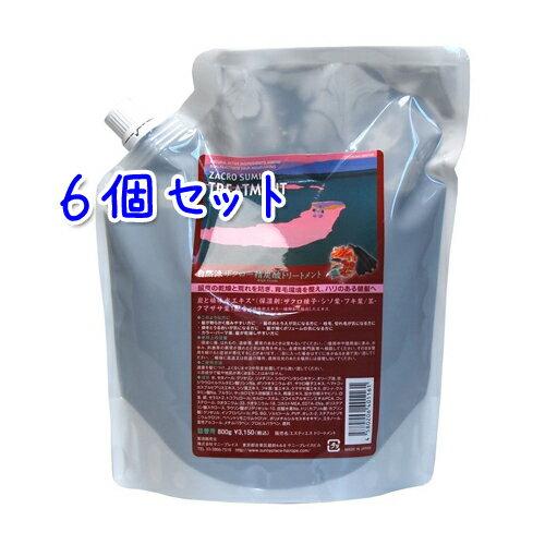 サニープレイス ザクロ精炭酸 トリートメント 800g × 6本セット (詰替用)