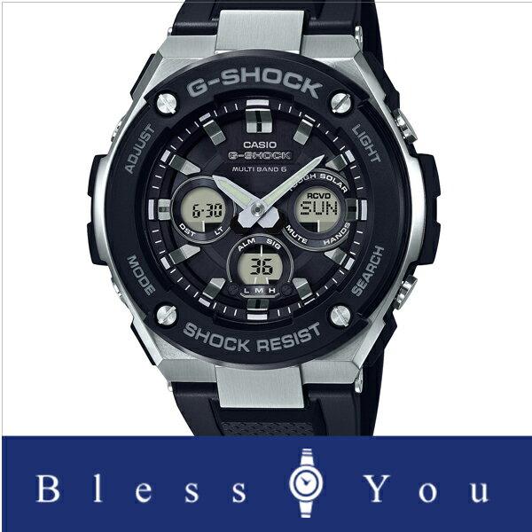 ジーショック ジースチール GST-W300-1AJF 35,0 電波 ソーラー gショック 電波 ソーラー ソーラー 電波時計 ジーショック g-schok カシオ Gショック  GST-W300-1AJF 35,0 Gスチール 腕時計