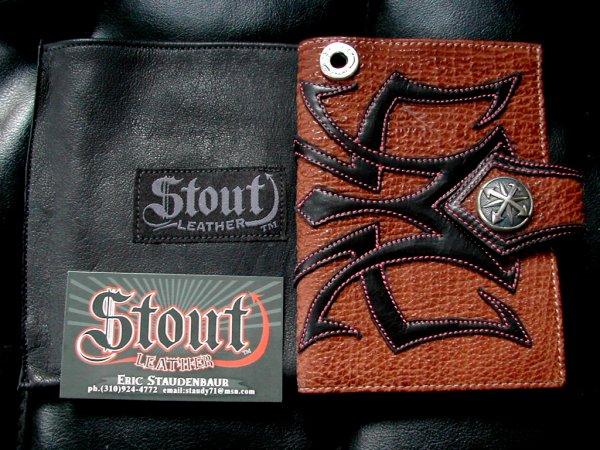 ■スペシャルセール■ Stout Leather ウォレット The Traveler Passport スタウトレザー BWL