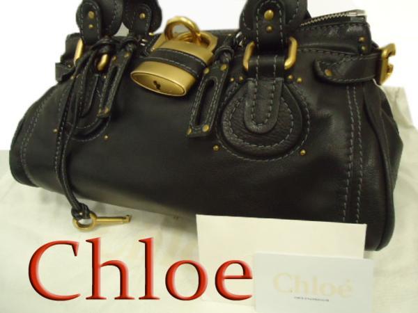 【中古】国内購入◇クロエ CHLOE' パディントン レザーバッグ