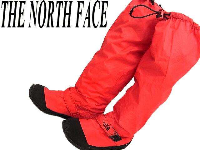 【未使用】○ノースフェイス レインシューズ 長靴 ハイベント 22.5~23cm THE NORTH FACE HyVEN 裏メッシュ レッド レディース 正規品
