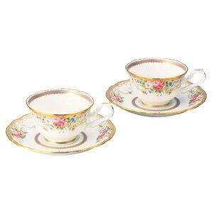 【ノリタケ】アフロディーテ  ティー・コーヒー碗皿ペア 05P03Sep16