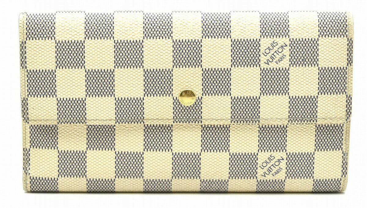 【財布】LOUIS VUITTON ルイ ヴィトン ダミエアズール ポルトフォイユ インターナショナル 3つ折長財布 N61732【中古】【k】【Blumin 楽天市場店】