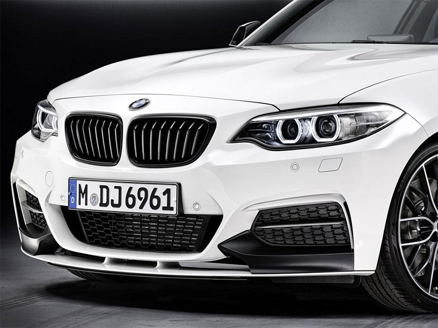 【BMW純正】BMW F22 2シリーズ  BMW M Performance フロント・スポイラー