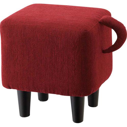 完成品 スツール 可愛い キュート インテリア チッポ レッド 椅子 イス いす チェア チェアー ダイニングスツール デスクスツール ドレッサースツール 玄関 ダイニング リビング キッチン かわいい カワイイ デザイン おしゃれスツール しっぽ 子供 女子 ns-504rd