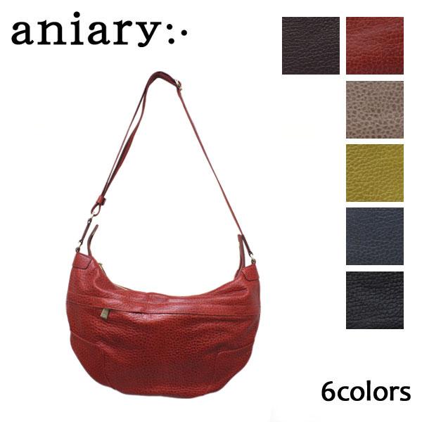 正規取扱店 aniary(アニアリ アニアリー) 03-03000 AELハーフムーンショルダー 全6色 AN042