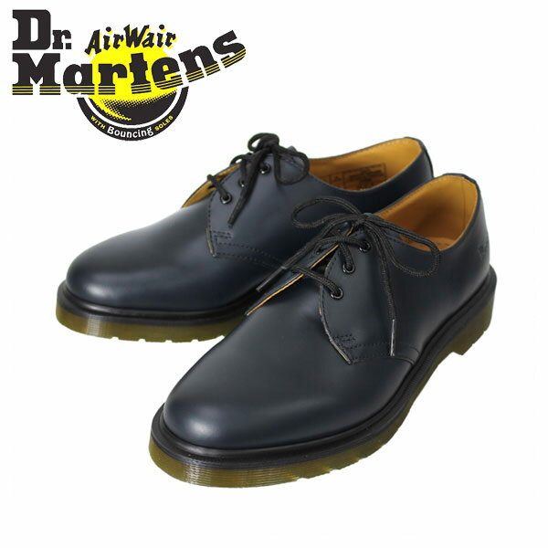 正規取扱店 Dr.Martens ドクターマーチン 1461PW 3EYE SHOE 3ホールシュー NAVY ネイビー