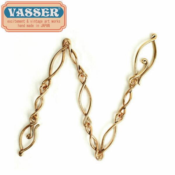 正規取扱店 VASSER(バッサー)Ruins Eye Wallet Chain ~The Loop of Time~ 47cm(ルインズアイウォレットチェーン) Copper
